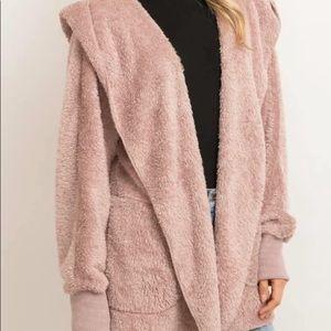 Hem & Thread Blush Bear Coat